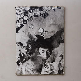 1987. collage art print 052