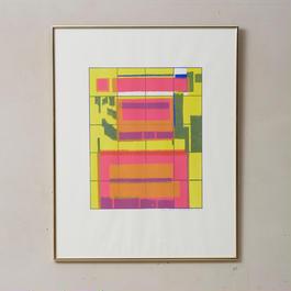 1974.Vintage silkscreen  art 009
