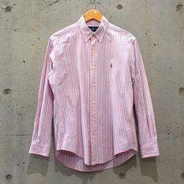 【Men's】ストライプBDシャツ【Ralph Lauren】