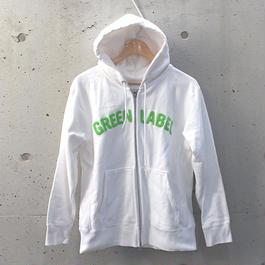 ジップアップ・パーカー【JUN and ROPÉ/Green Label】