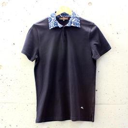 【Men's】柄襟ポロシャツ【ETRO】