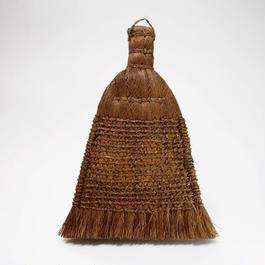 ヤシ繊維の卓上ミニほうき(台湾)