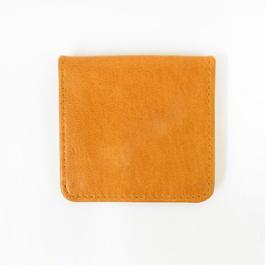 山羊革コインケース(オレンジ)  Goat leather coin case(orange)