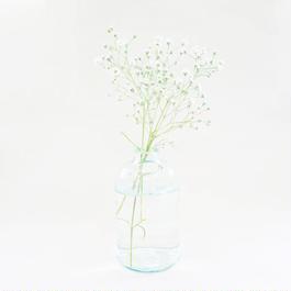 リサイクルガラスのボトル(L)  Recycle glass bottle (L)