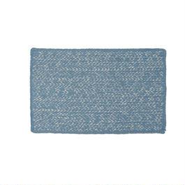 ジュートマット(青)</br>Original jute mat from Bangladesh(Blue)