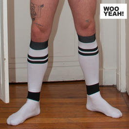 KNEE-HIGH FOOTBALL SOCKS (メンズ)4 Colours