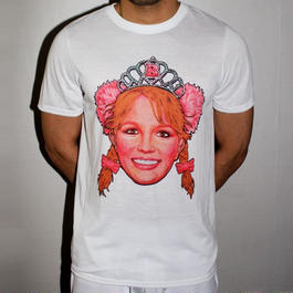 PHILIP NORMAL ‹‹ Britney Spears Art ›› Tシャツ