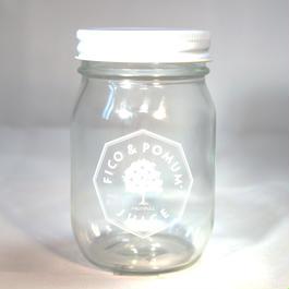 オリジナルグラスジャー(ホワイト)