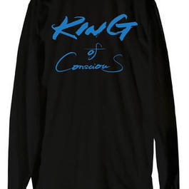 King of conscious L/S T(forte blue)