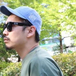 "【PV着用】HAIIRO DE ROSSI official Denim CAP""JAZZ"""
