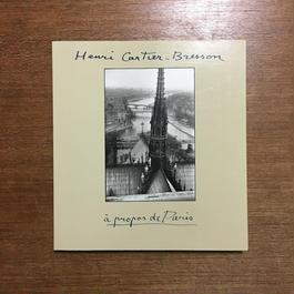 「A Propos de Paris」Henri Cartier-Bresson