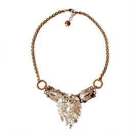 Vintage Legend ネックレス Grapevine rhinestone statement necklace VLNL04