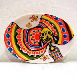 ボウル皿(モロッコ風の頭)