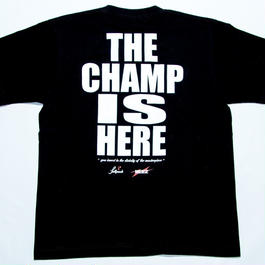 "NEEZ×Full Push "" THE CHAMP IS HERE "" Black body."