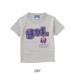Jr. 半袖 Tシャツ カモフラロゴ(G672-167)