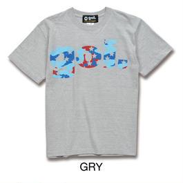 ビッグロゴTシャツ<CUBAN CAMO>(G792-599)