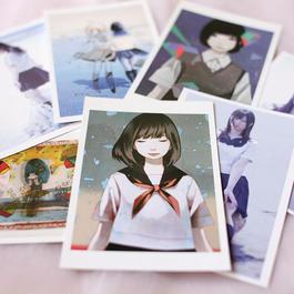 武井裕之 × 大槻香奈『いつかまた会える夏に』ポストカード7枚セット