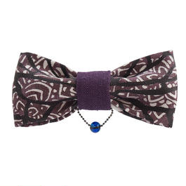 butterfly/BOW TIE KIDS purple