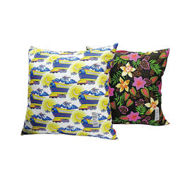 FLYING FUTURE TRAIN&CHUNK ALOHA CUSHION