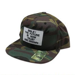 TRUST DOC BROWN SNAPBACK CAP