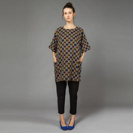 【SALE 】Geometric printed dress HD8121