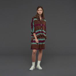 【SALE 】High waist printed skirt  HS10111