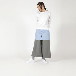 【SALE】Sweatshirt insert blouse  HT7110