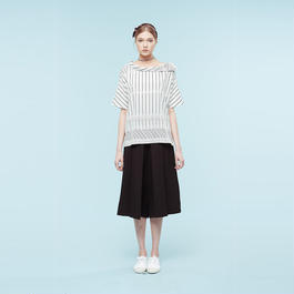 【SALE】Comfy boat neckline shirt  HC9107