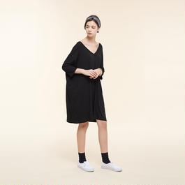 【SALE】V neckline jersey dress HD9106