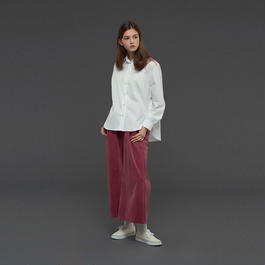 【SALE 】Ribbed stretched velvet trousers HP10113