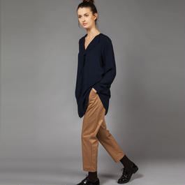 【SALE 】Frontal rouche blouse HB8101