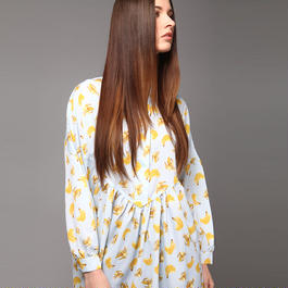 【SALE】Banana printed dress HD7202