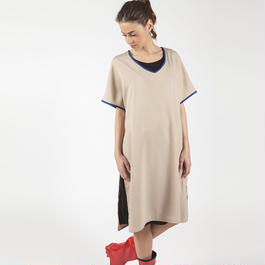 【SALE】Long Dress With Lateral Splits HD7107