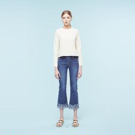 【SALE】Flare denim trousers HP9119
