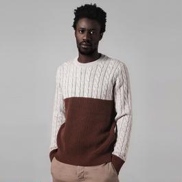 【SALE 】Bicolor Sweater HMK6101