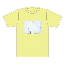 「アトノオトTシャツ」イエロー