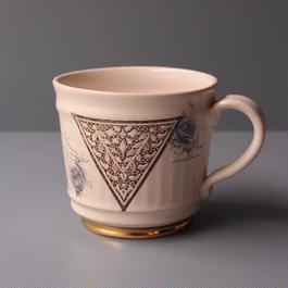 三角模様のマグカップ