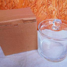 ■テラリウムガラス容器 蓋付キャニスター Mサイズ