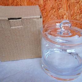 ■テラリウムガラス容器 蓋付キャニスター Lサイズ