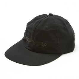 HHH POLY 6-PANEL CAP / BLACK