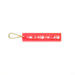 ACRYLIC KEY RING ONE / RED