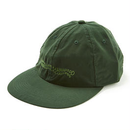 HHH POLY 6-PANEL CAP / GREEN