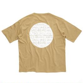CIRCLE POCKET T-SHIRT / KHAKI