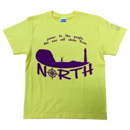 SHINE north Tシャツ *イエロー*