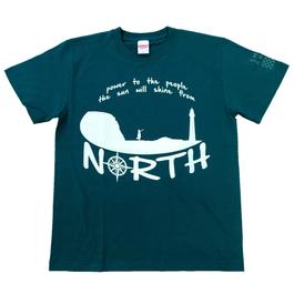 SHINE north Tシャツ *グリーン*