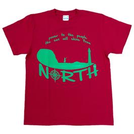 SHINE north Tシャツ *X' mas red*