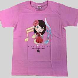 臼澤みさき  SHINE ピンク衣装 Tシャツ