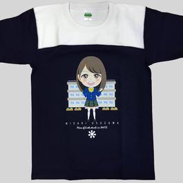 臼澤みさき 制服 Tシャツ