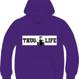 THUG LIFE PARKER(purple)