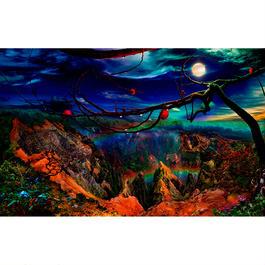 THE NIGHT RAINBOW OVER THE WAIMEA CANYON (Small)